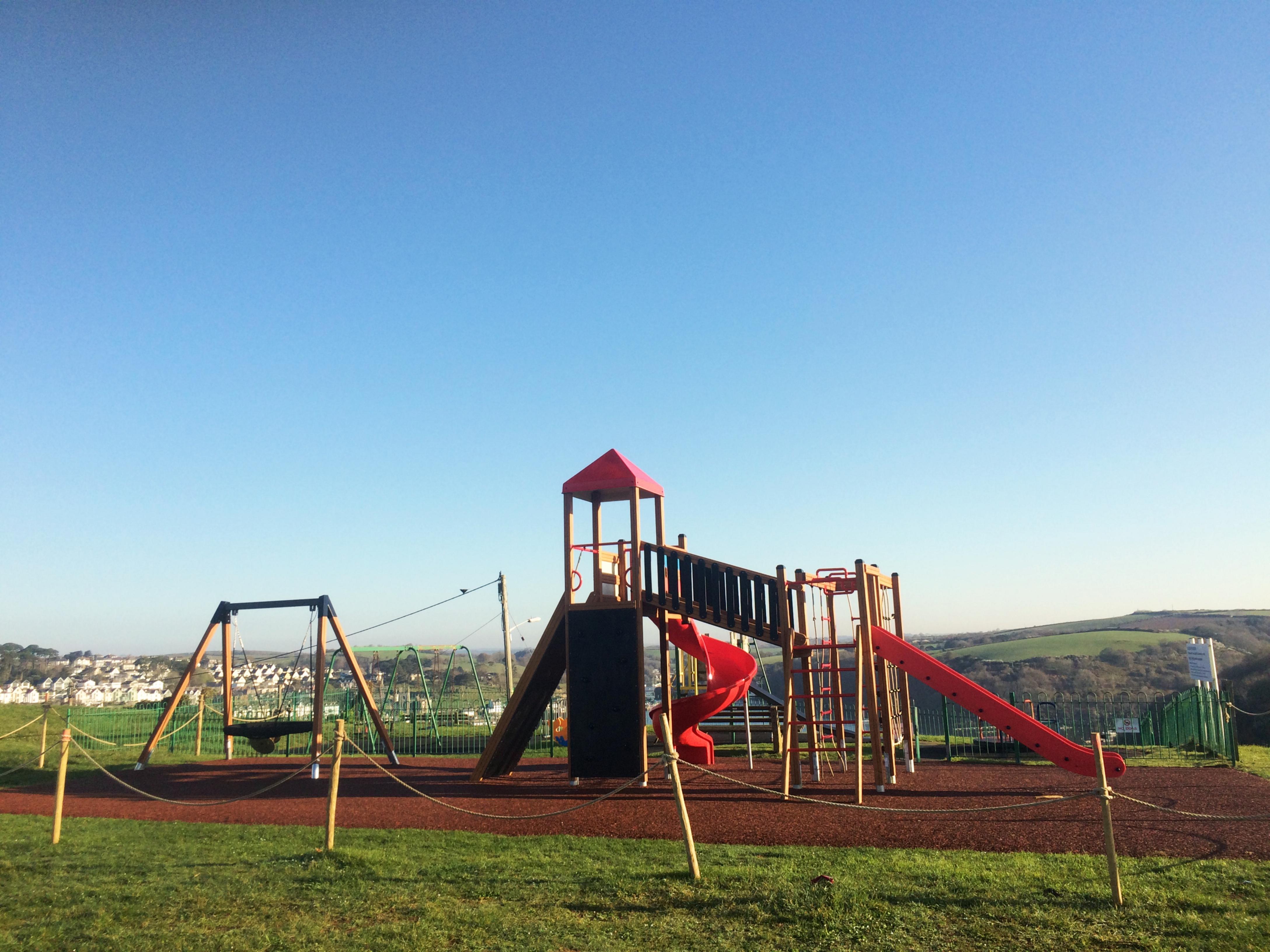 Lars Laj Playground in Polruan